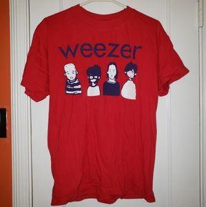 Vintage 2000 Weezer Cartoon Shirt